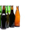 Geschlossene Flaschen Bier | Stock Foto