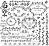 Dekorative Hochzeits-Rahmen