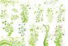 Zielone drzewa   Stock Vector Graphics
