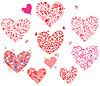 Greeting hearts | Stock Vector Graphics