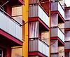Poziomy balkon | Stock Foto