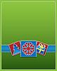 ID 3801484 | Weihnachtskarte mit farbigen Piktogrammen | Illustration mit hoher Auflösung | CLIPARTO