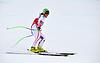 Stefanie Moser konkurriert in der FIS Alpine Ski | Stock Foto