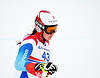 Corinne Suter konkurriert in der FIS Alpine Ski World | Stock Foto