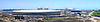 Budowa pięciu aren lodowych Olimpijskich w Soczi | Stock Foto