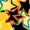 abstrakter Neon Retro-Hintergrund