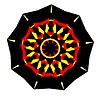 Abstrakcyjne kształty symboli etnicznych | Stock Vector Graphics