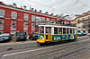 ID 3940353 | Tram passing through Lisbon streets | Foto stockowe wysokiej rozdzielczości | KLIPARTO