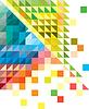 Geometrischen mehrfarbigen Hintergrund | Stock Vektrografik