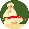Mann Arabisch | Stock Vektrografik