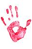 Hand. Impressum | Stock Foto