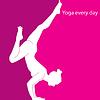 Yoga jeden Tag | Stock Vektrografik