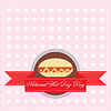 National Hot Dog Day | Stock Vektrografik