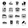 Tankstelle Icons