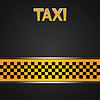Vector clipart: Taxi cab background