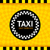 Vector clipart: Taxi round symbol