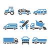 Transport Icons - der zwölfte eingestellt