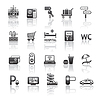 ID 3825918 | Ikony ustaw piktogramów usługi hotelowe | Klipart wektorowy | KLIPARTO