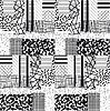 Geometrische nahtlose abstraktes Muster