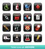 ID 3826338 | Medizin. Tablet-Schaltflächen-Sammlung | Stock Vektorgrafik | CLIPARTO