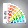 ID 3838378 | Farbpalette Leitfaden auf grauem Hintergrund | Stock Vektorgrafik | CLIPARTO