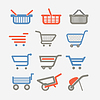 Shopping Carts und Trolleys