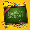 Willkommen zurück in die Schule | Stock Vektrografik