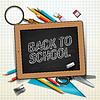 Witamy z powrotem do szkoły | Stock Vector Graphics
