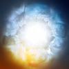 Abstract background, göttlichen Himmel | Stock Vektrografik