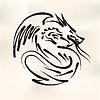 Chinesische Kalligraphie von Dragon