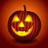 Halloween Straszny pumpking | Stock Vector Graphics