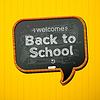 Zurück in die Schule | Stock Vektrografik