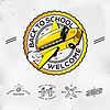 Zurück zur Schule, set icons | Stock Vektrografik