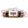 Explosives mit Wecker, | Stock Vektrografik