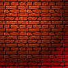 Ceglany mur bez szwu patern | Stock Vector Graphics