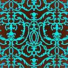 Damast Distel floral background pattern