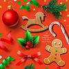 Satz von Weihnachts-Elementen | Stock Vektrografik