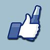 Like / Thumbs Up Symbol Symbol mit Bierflasche | Stock Vektrografik