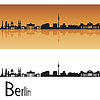 Berlin Skyline | Stock Vektrografik