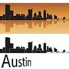 ID 3856531 | Austin skyline | Klipart wektorowy | KLIPARTO
