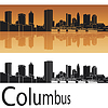 Columbus skyline | Stock Vector Graphics
