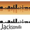 Jacksonville skyline | Stock Vector Graphics