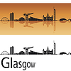 Glasgow Skyline | Stock Vektrografik
