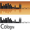 Kolonia skyline | Stock Vector Graphics