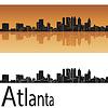 Atlanta skyline | Stock Vector Graphics