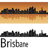 Brisbane skyline | Stock Vector Graphics