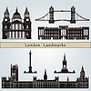 London landmarks and monuments | Stock Vector Graphics