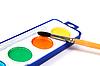 Farben und Pinsel | Stock Foto