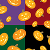 Halloween Hintergrund Pumpkins | Stock Vektrografik