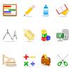 ID 3867538 | Education icon set | Stock Vektorgrafik | CLIPARTO